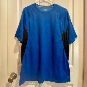 Champion Blue Mens Tshirt